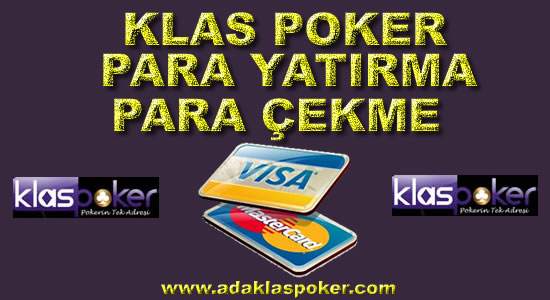 Klas Poker (Klas Casino) Para Yatırma-Para Çekme