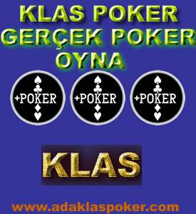 Klas Gerçek Poker