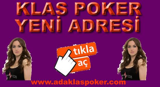 Klas Poker Yeni Adresi