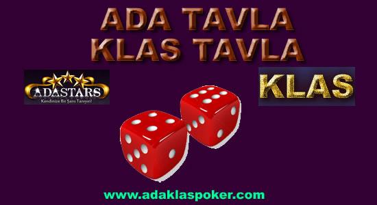 Ada Tavla - Klas Tavla