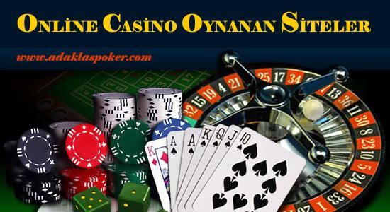 Online Casino Oynanan Siteler