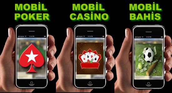 Mobil Poker-Casino-Bahis