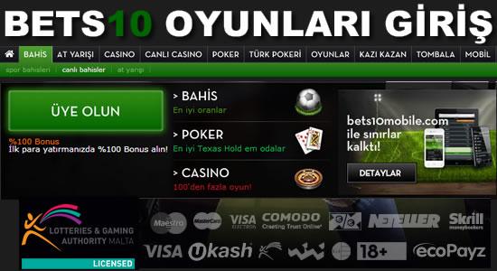 Bets10 Oyunları
