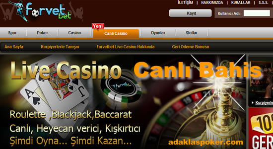 Forvetbet Casino-Bahis