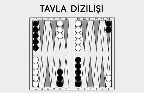Tavla Oynama Videosu